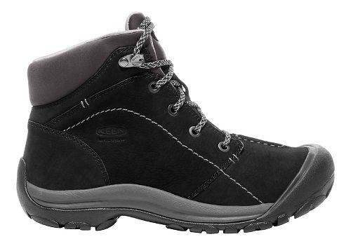 Womens Keen Kaci Winter Mid WP Casual Shoe - Black/Magnet 7