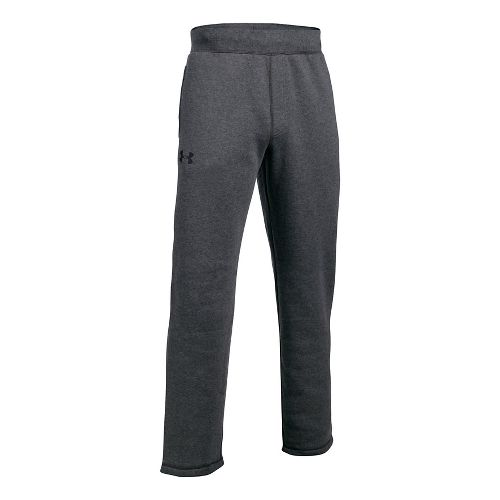 Mens Under Armour Rival Fitted Pants - Carbon Heather M