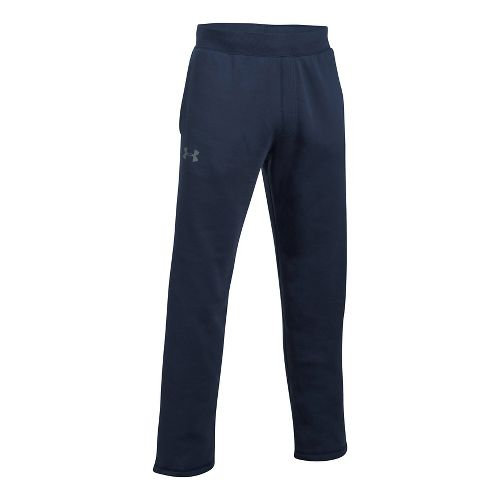 Mens Under Armour Rival Fitted Pants - Midnight Navy 5XL