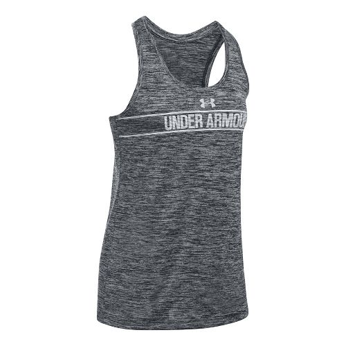 Womens Under Armour Tech Twist Sleeveless & Tank Tops Technical Tops - Black L