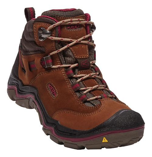 Womens Keen Laurel Mid WP Hiking Shoe - Monks Robe 10