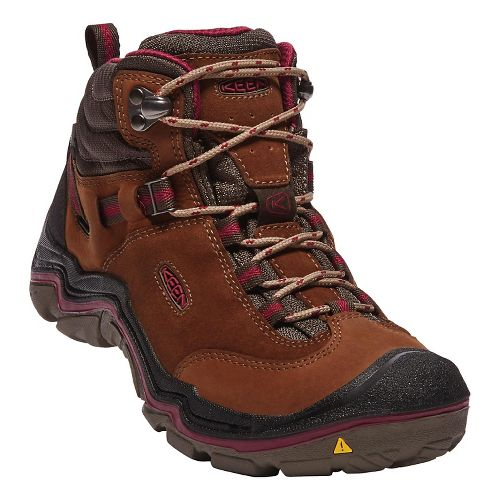 Womens Keen Laurel Mid WP Hiking Shoe - Monks Robe 8.5