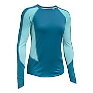 Womens Under Armour Reactor Run Long Sleeve Technical Tops