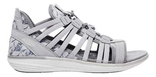 Womens Keen Maya Gladiator Sandals Shoe - Grey/Vapor 8