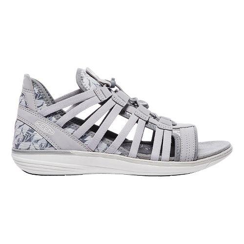 Womens Keen Maya Gladiator Sandals Shoe - Grey/Vapor 10