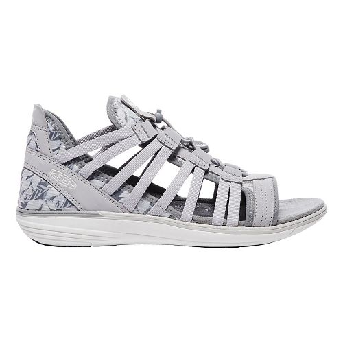 Womens Keen Maya Gladiator Sandals Shoe - Grey/Vapor 11