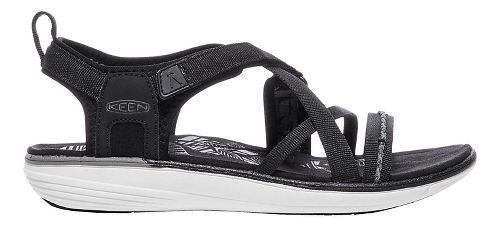 Womens Keen Maya Strap Sandals Shoe - Black/Gargoyle 6.5
