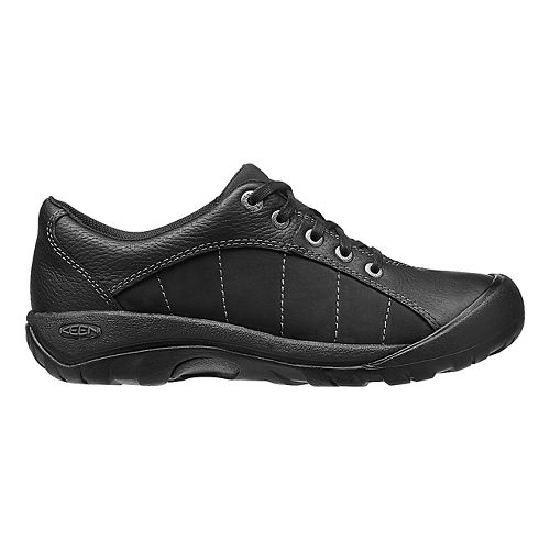 Womens Keen Presidio Casual Shoe - Black/Magnet 5.5