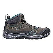 Womens Keen Terradora Leather Mid WP Hiking Shoe - Magnet 10.5