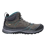 Womens Keen Terradora Leather Mid WP Hiking Shoe - Magnet 5