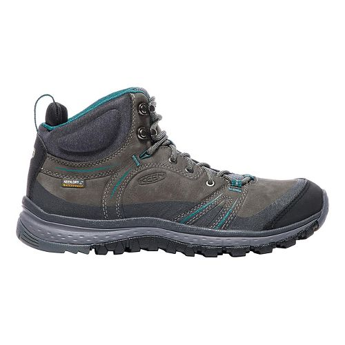 Womens Keen Terradora Leather Mid WP Hiking Shoe - Magnet 10