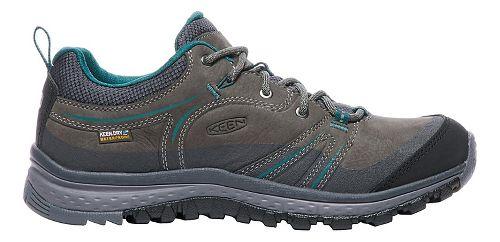 Womens Keen Terradora Leather WP Hiking Shoe - Mushroom/Magnet 5