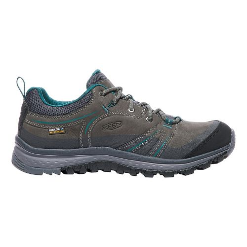 Womens Keen Terradora Leather WP Hiking Shoe - Mushroom/Magnet 10
