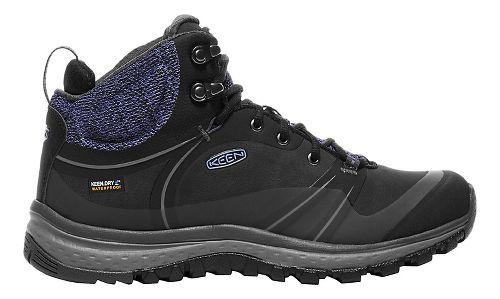 Womens Keen Terradora Pulse Mid WP Hiking Shoe - Black/Magnet 9.5