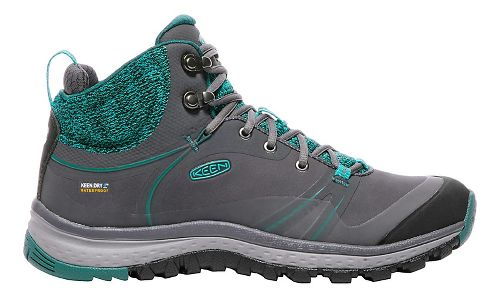 Womens Keen Terradora Pulse Mid WP Hiking Shoe - Magnet/Baltic 8.5