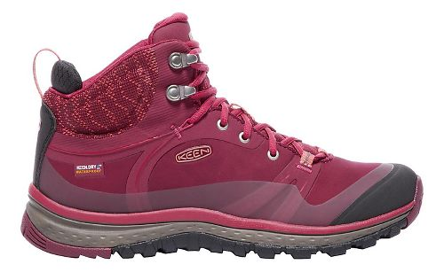 Womens Keen Terradora Pulse Mid WP Hiking Shoe - Sugar Coral 7.5