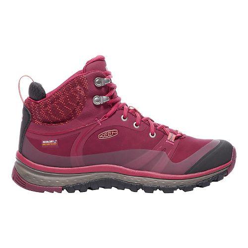Womens Keen Terradora Pulse Mid WP Hiking Shoe - Sugar Coral 10.5