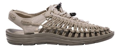 Womens Keen Uneek Leather Casual Shoe - Plaza Taupe 9