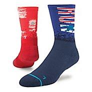 Mens Stance Charlestown Run Crew Socks - Multi L