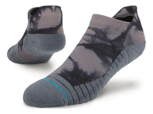 Mens Stance Athletic Nightlit Tab Socks - Grey L