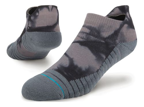 Mens Stance Athletic Nightlit Tab Socks - Grey M