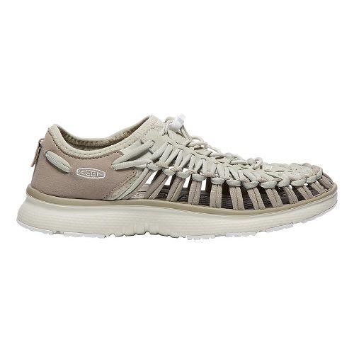 Womens Keen Uneek O2 Casual Shoe - Vintage Khaki/White 7.5