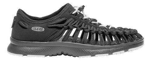 Womens Keen Uneek O2 Casual Shoe - Black/White 9