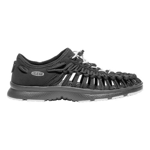 Womens Keen Uneek O2 Casual Shoe - Black/White 10.5