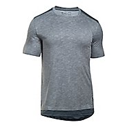 Mens Under Armour SS The Layered Tee Short Sleeve Technical Tops