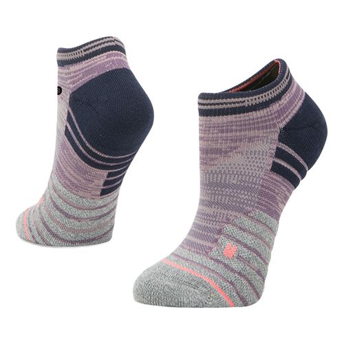 Womens Stance Athletic Slay Girl Low Socks - Purple S
