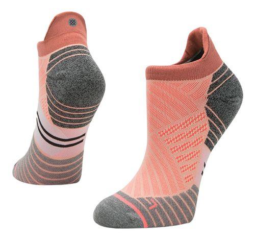 Womens Stance Run Valley Tab Socks - Peach S