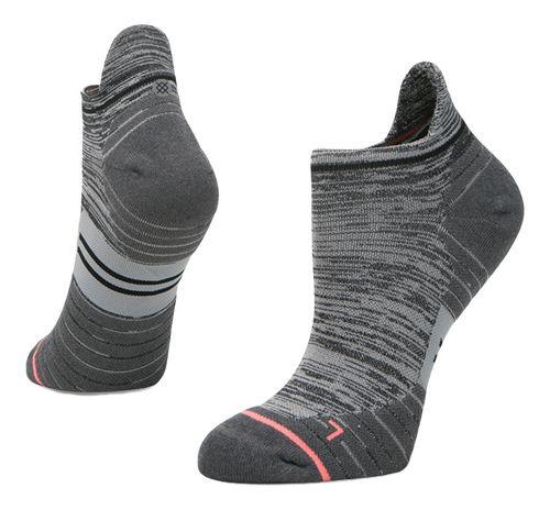 Womens Stance Run Uncommon Solid Tab Socks - Grey M