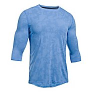 Mens Under Armour Threadborne Power Sleeve Fitted Tee Long Sleeve Technical Tops