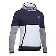 Mens Under Armour Threadborne Reflective Half-Zips & Hoodies Technical Tops - White S