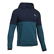 Mens Under Armour Threadborne Reflective Half-Zips & Hoodies Technical Tops