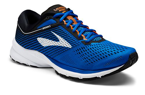 Mens Brooks Launch 5 Running Shoe - Blue/Black 8
