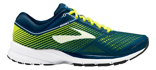 Mens Brooks Launch 5 Running Shoe - Blue/White 11