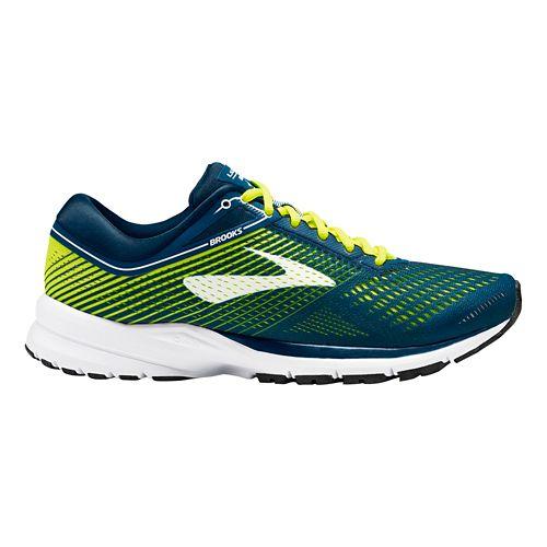 Mens Brooks Launch 5 Running Shoe - Blue/White 8