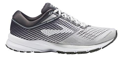Womens Brooks Launch 5 Running Shoe - Grey/Ebony/White 6.5