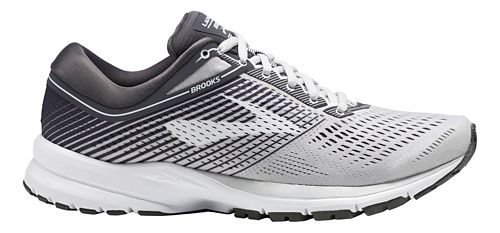 Womens Brooks Launch 5 Running Shoe - Grey/Ebony/White 9.5