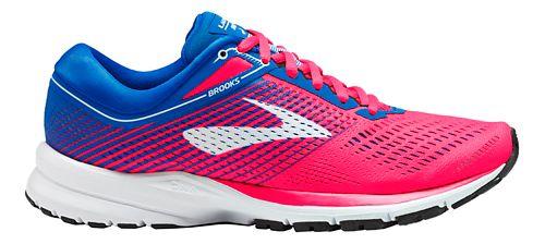 Womens Brooks Launch 5 Running Shoe - Pink/Blue/White 6