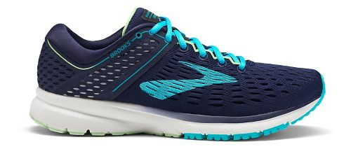 Womens Brooks Ravenna 9 Running Shoe - Navy/Blue 8.5