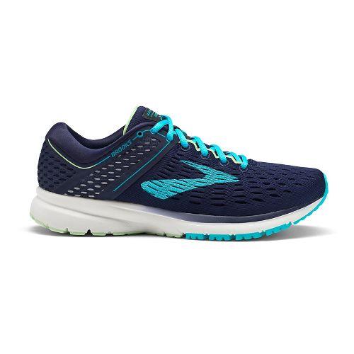 Womens Brooks Ravenna 9 Running Shoe - Navy/Blue 6.5