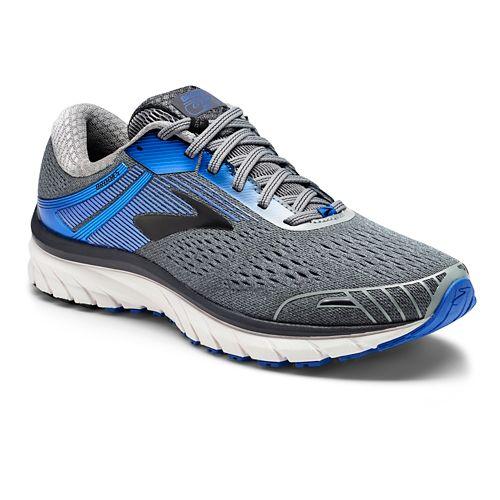 Mens Brooks Adrenaline GTS 18 Running Shoe - Grey/Blue 14