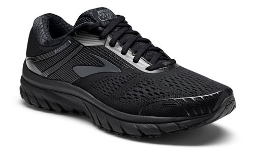 Mens Brooks Adrenaline GTS 18 Running Shoe - Black/Black 12.5