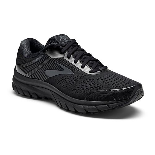 Mens Brooks Adrenaline GTS 18 Running Shoe - Black/Black 11