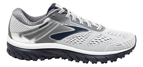 Mens Brooks Adrenaline GTS 18 Running Shoe - White/Navy 13
