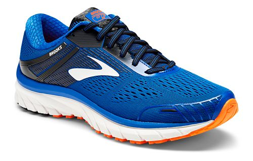 Mens Brooks Adrenaline GTS 18 Running Shoe - Grey/Blue 10