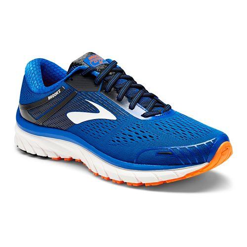 Mens Brooks Adrenaline GTS 18 Running Shoe - Blue/Black 15
