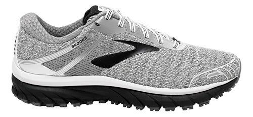 Womens Brooks Adrenaline GTS 18 Running Shoe - White/Black 9